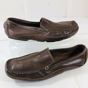 Clarks Shoes - Clarks Mansell Mens Driving Moccasins Loafer 8.5 M